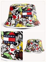KIDS(NEW/日本未入荷)TOMMY JEANS X LOONEY TUNES REVERSIBLE HA