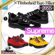 20SS /Supreme Timberland  Patent Leather Euro Hiker Low