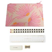 即納Kate spadeNY Falling Flower pencil pouch文具付き
