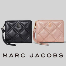MARC JACOBS Quilted Softshot Mini Wallet【送料0/国内即発】