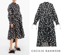 CECILIE BAHNSEN(セシリーバンセン) ワンピース 国内発| CECILIE BAHNSEN  Cleo お花フィルクーペ シャツドレス