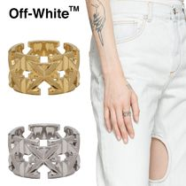 *OFF-WHITE*アロー ロゴ リング