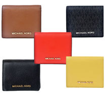 即発★MICHAEL KORS JET SET TRAVEL  CARD CASE ★二つ折り財布