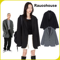 【RAUCOHOUSE】    OVER SIZED BLAZER/追跡可能