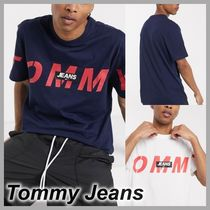 【Tommy Jeans】bold cross ロゴTシャツ