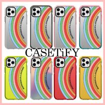 Casetify × Quotes by ChristieStickers レインボー iPhoneCase