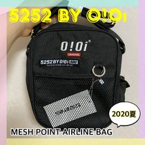 20/SS★【5252 by OiOi】MESH POINT AIRLINE BAG 全2色