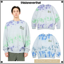 日本未入荷THISISNEVERTHATのTiedye DRAGON Crewneck 全2色