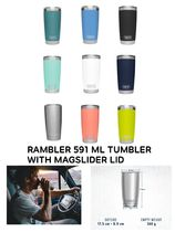 〈YETI〉★話題★RAMBLER 591 ML TUMBLER WITH MAGSLIDER LID