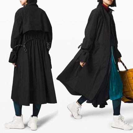 [lululemon × Roksands]  Face Forward Trench Coat ブラック
