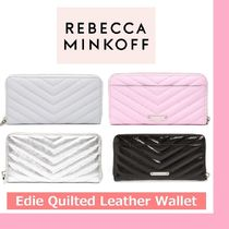 ◆REBECCA MINCOFF◆Edie Quilted Leather Wallet