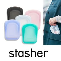 話題沸騰中☆【stasher】reusable silicone pocket 5個セット