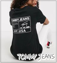 ◆TOMMY JEANS◆バックロゴTシャツ 送料込み