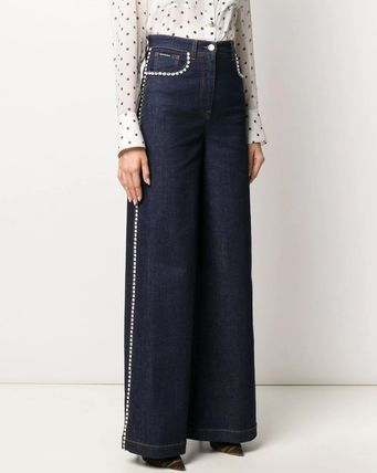 Dolce & Gabbana デニム・ジーパン DG2314 RHINESTONE EMBELLISHED DENIM PANTS(4)