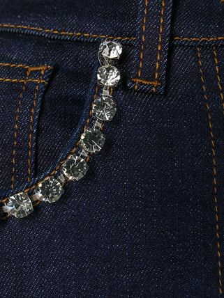 Dolce & Gabbana デニム・ジーパン DG2314 RHINESTONE EMBELLISHED DENIM PANTS(6)