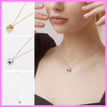 【Hei】square two way pendant necklace〜スクエアネックレス