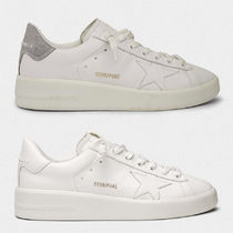 即発 GOLDEN GOOSE PURESTAR LEATHER SNEAKERS