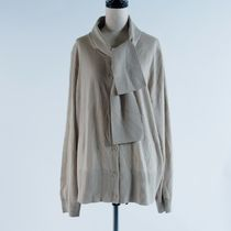 """COS""::MERINO CARDIGAN WITH NECK-TIE:L[RESALE]"