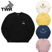 TWN★OVER FIT★KEEP CHALLENGER SWEATSHIRT 5カラー - JEMT3274