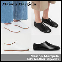 【Maison Margiela】Tabi leather slip-ons S58WR0033 PR516