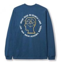 FW19 The North Face x Brain Dead L/S Tee Blue ロンT ブルー