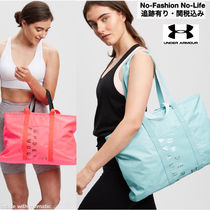 UNDER ARMOUR (アンダーアーマー ) フィットネスバッグ 追関込み★UNDER ARMOUR ★メタリックトートーバッグ