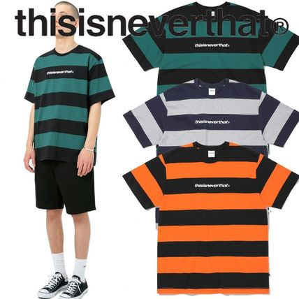 ★thisisneverthat★SP-Logo Striped Tee 3色