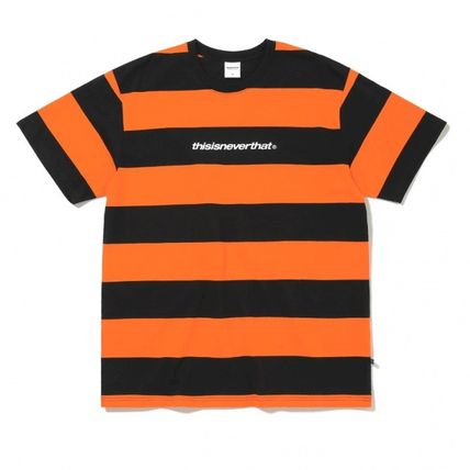 thisisneverthat Tシャツ・カットソー ★thisisneverthat★SP-Logo Striped Tee 3色(2)