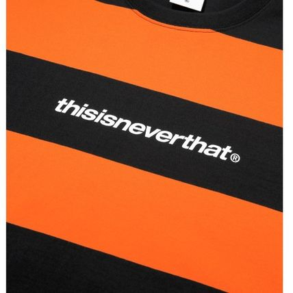 thisisneverthat Tシャツ・カットソー ★thisisneverthat★SP-Logo Striped Tee 3色(3)