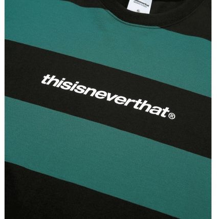 thisisneverthat Tシャツ・カットソー ★thisisneverthat★SP-Logo Striped Tee 3色(9)