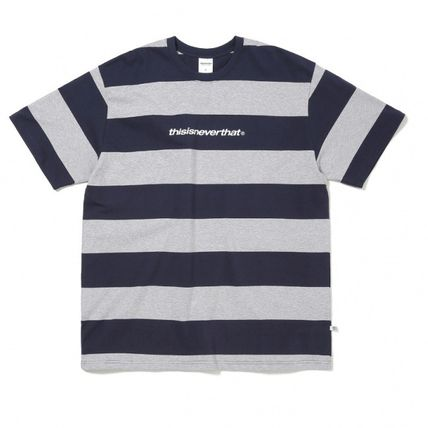 thisisneverthat Tシャツ・カットソー ★thisisneverthat★SP-Logo Striped Tee 3色(12)