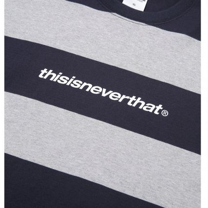 thisisneverthat Tシャツ・カットソー ★thisisneverthat★SP-Logo Striped Tee 3色(13)