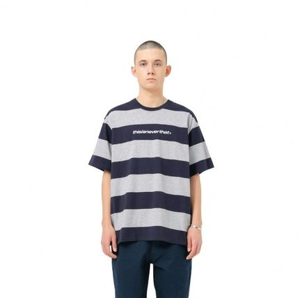 thisisneverthat Tシャツ・カットソー ★thisisneverthat★SP-Logo Striped Tee 3色(15)