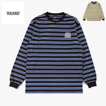 *新作アイテム* Pleasures Hangman Premium Striped LS Shirt