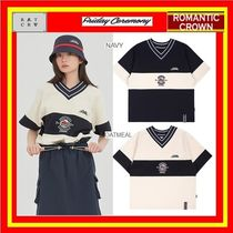 [ROMANTIC CROWN] PERFECT GAME V NECK JERSEY ◆全2色/追跡付