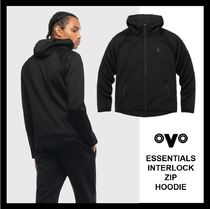 【OVO】☆人気・Drake監修☆ ESSENTIALS INTERLOCK ZIP フーディ