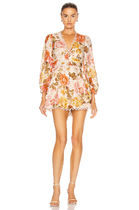 ZIMMERMANN Bonita Button Through Playsuit