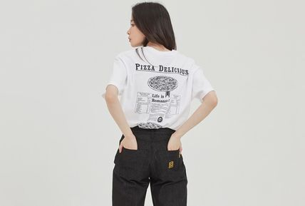 ROMANTIC CROWN Tシャツ・カットソー ROMANTIC CROWN★[PIZZAHUT X RMTCRW]PIZZA POSTER TEE 3色(11)