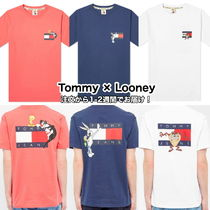 Tommy Jeans × Looney Tunes コラボ ロゴ キャラ Tシャツ