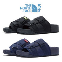 ★THE NORTH FACE★ NS96L16 KID WOVEN SLIDE キッズ スリッパ