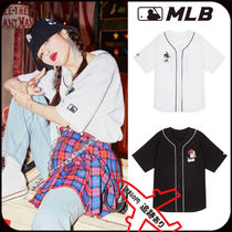 【MLB】ヒョナ着用★Mickey Mouse base ball jersey★安全発送