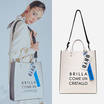 ★BBYB★韓国 大人気 バッグ MARCE Unisex Tote Bag Cloud Cream