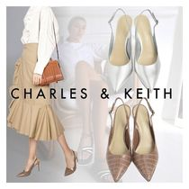 Charles&Keith★Stiletto Slingback Pumps★パンプス