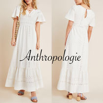 大人気☆【Anthropologie】Rochelle Eyelet マキシドレス