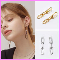 【Hei】noblesse chain drop earring〜ノブレスチェーンピアス