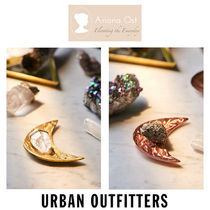 Urban Outfitters☆ Ariana Ost  クリスタル ムーン ディッシュ