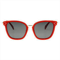 CELINE CL40035F 66N Sunglasses RED/赤