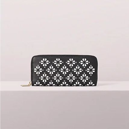 kate spade new york 長財布 kate spade☆sylvia perforated スリム 長財布☆税・送料込(3)