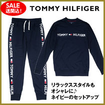 【Tommy Hilfiger】ロゴ ロンT&ジョガーセットアップ送関込!