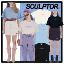 SCULPTOR(スカルプター) Tシャツ・カットソー ★送料・関税込★SCULPTOR★Small Logo Embroidery Tee★